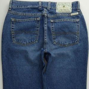 Lucky Brand Boot Cut 8 Short Women's Jeans C254P